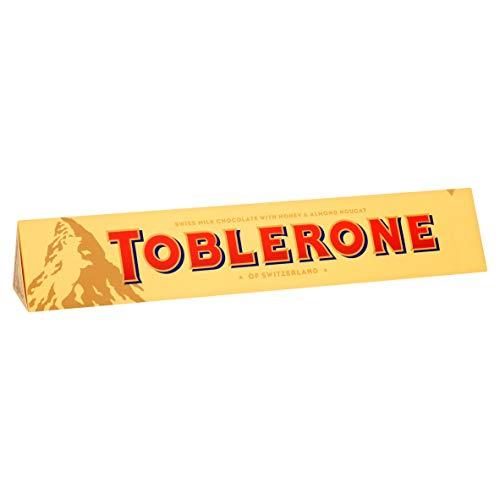 Toblerone Milch Großer Barren Schokolade, 360 g