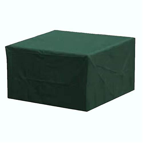 SYLC Funda Protectora para Muebles De Jardín Verde, Funda Muebles Exterior Impermeable Anti-UV Protección, Cubierta De Muebles De Mesas Oxford (205×104×71cm(81×41×28in))