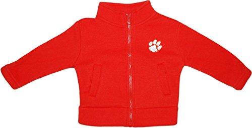Clemson University Tigers Baby Polar Fleece Jacket Orange