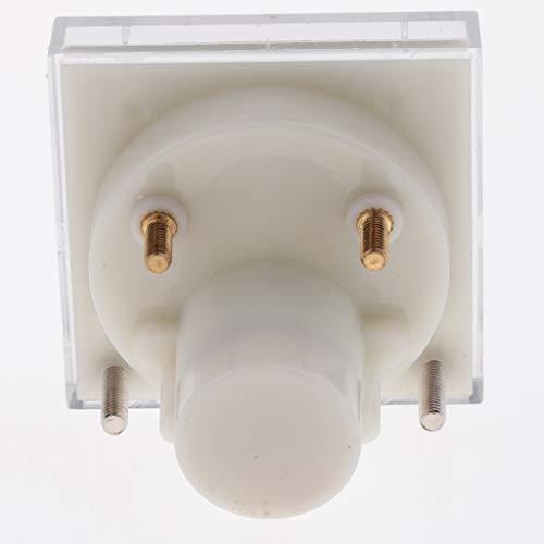 B Blesiya 6 Unidades Amperímetro de CC Medidor de Panel Analógico Medidor de Amplificador Medidor de Panel de Corriente Indicador 75mV