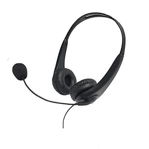 USB-Headset, Computer-Headset mit Geräuschunterdrückung, Mikrofon und Audio-Steuerung, Stummschaltung, Call-Center-Kopfhörer für Kundendienst, Online-Klasse, Business Negotiate