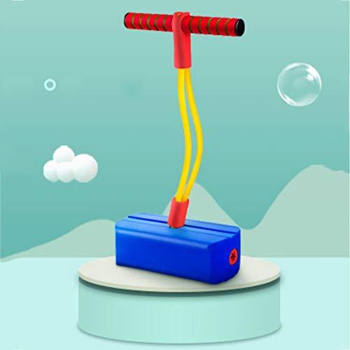 DSAKOX Frosch namens Jump Pole Kinderhochsprung Pole Sense Integration Training Family Outdoor Jump Fitness Spielzeug Sportgerät (Color : Blue)