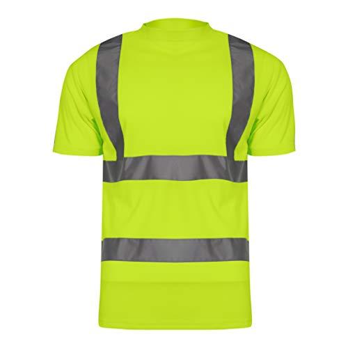 LAHTI PRO L4020806 T-Shirts Warnschutzkleidung GELB/ORANGE Arbeitsshirt, Größe: 3XL/60