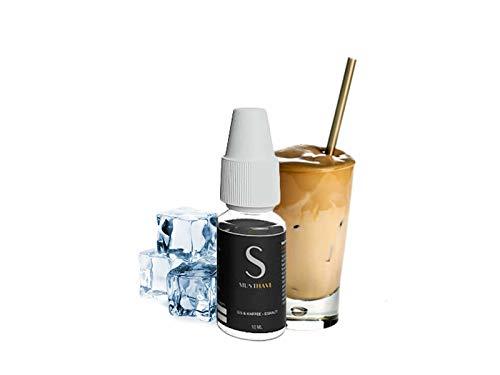 Must Have 10ml - Aroma S Eiskaffee Premium Konzentrat inkl 120ml Leerflasche