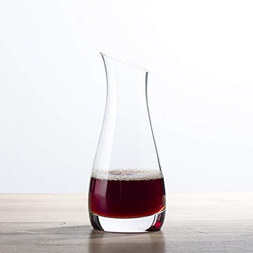 Gonfleur à Vin Avec Décanteur Pour Bouteilles Fast Creative Classic de 750ML - Verre En Cristal Sans Plomb Soufflé à La Main à 100%, Carafe à Vin Rouge, Bouteille de Whisky, Cadeaux de Vin, Accessoire