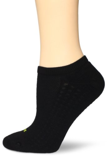 Hue Women's Air Sport 3 Pair Pack No Show Socks - black - One Size