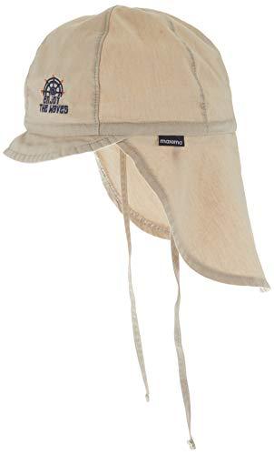 maximo Jungen Nackenschutz Mütze, Beige (Sand 10), (Herstellergröße: 53)