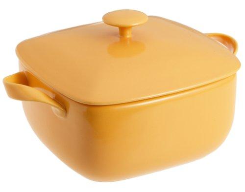 RSO Brights 3-Quart Square Baker, Yellow