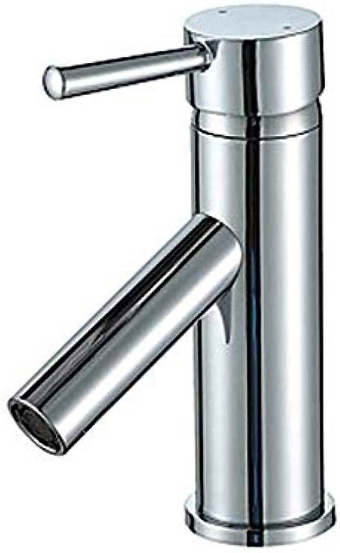 Ayhuir Waschbecken Wasserhahn - Umfangreiche Chrom Center Set Einhand-Einloch-Wasserhahn Cupc Upc