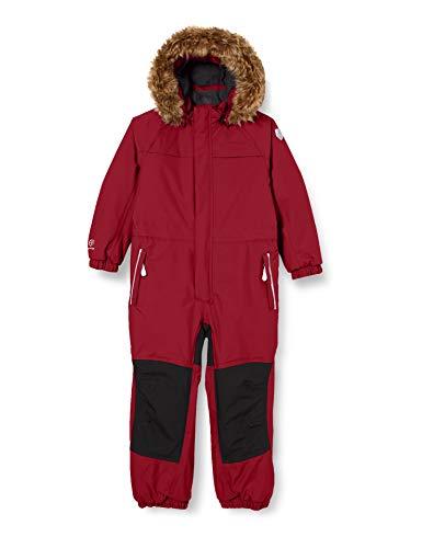 Color Kids Mädchen Anzug mit Futter Schneeanzug, Beet Red, 116