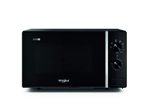 Whirlpool MWP 103 B Forno a Microonde Cook 20 + Grill, 20 Litri, Nero, con griglia Alta, 700 W