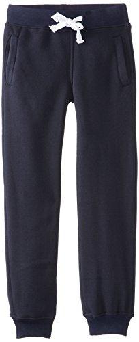 Southpole Boys' Kids Active Basic Jogger Fleece Pants, Navy, Small / 8