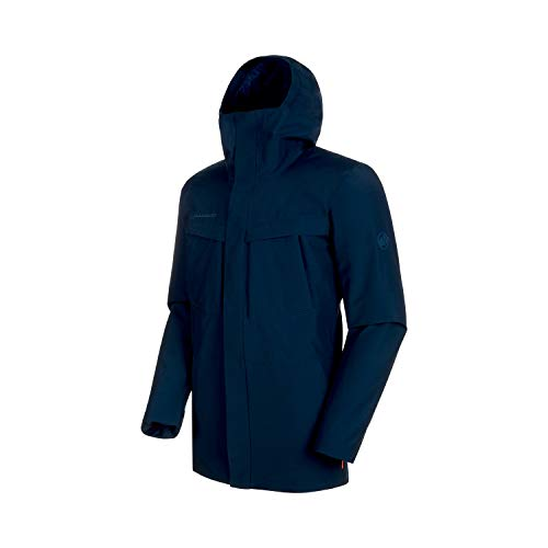 Mammut Herren Parka HS Thermo Hooded M Bleu Sarcelle (Wing Teal)