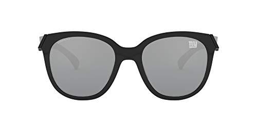 NFL New York Giants Women's Low Key Round Sunglasses, Polished Navy/Prizm Black, 54mm