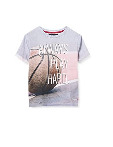 Desigual Boys TS_Luka T-Shirt, Black, 9/10