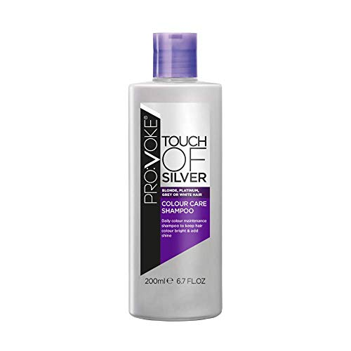 Shampooing Touch Of Silver, soin des couleurs, 200 ml