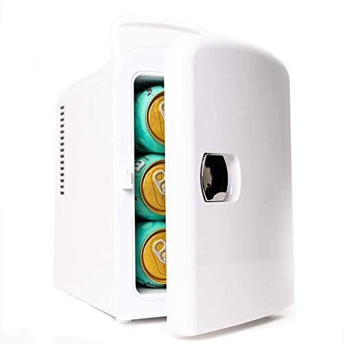 Portátil Mini Nevera, 4 L AC/DC Powered termoeléctrica Sistema de refrigeración más cálidas Autos Casas Oficinas dormitorios Minibar Frigorífico