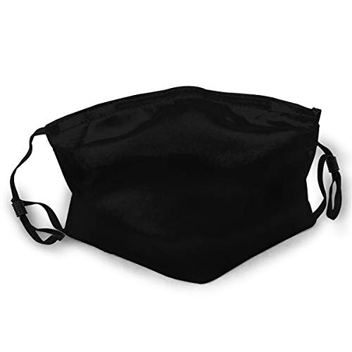 Black Sab_Bath Logo Unisex Face Cover Adult Dust Mask, Neck Gaiter Scarf Bandana Handkerchief for Dust Wind Sun Protection.