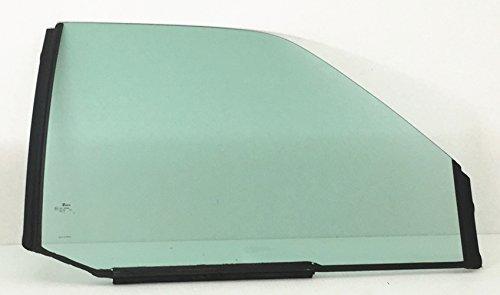 NAGD Passenger Right Side Front Door Window Door Glass Compatible with Chevrolet Pickup Compatible with GMC Pickup 1993-1999 C1500 K1500 / 1993-2000 C2500 C2500 K3500 K3500
