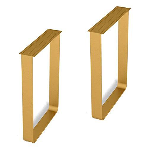 ZXL Eettafelpoten vierkant 27,6 inch hoogte, bureaupoten van metaal, modern, reservekeuken, bijzettafel, meubelvoet, knutselen, belastbaar 800 kg, 2 stuks