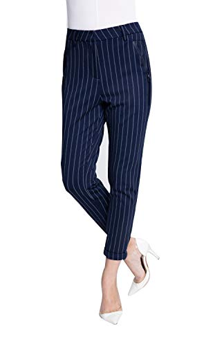 Zhrill dames chinobroek stoffen broek tapered 5 Pocket Slim Fit Laura