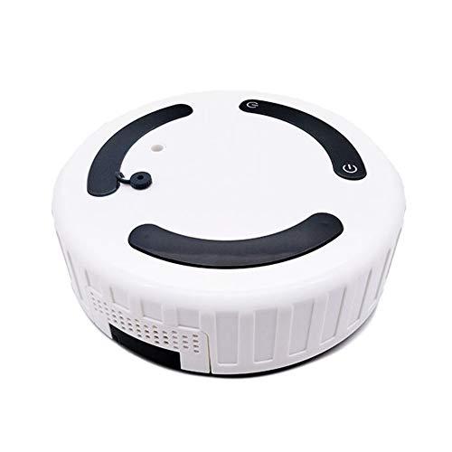 Aspirateur Robot Humidificateur, Aspire Plancher, Tapis ou Moquette - Système de Nettoyage pour Poils et Allergies, Silencieux pour Tapis, Sol Dur, Poil Animaux, Noir