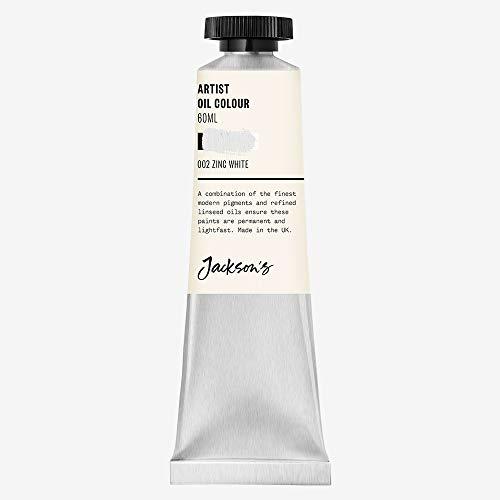 Jackson's Pintura al óleo, color blanco zinc, tamaño grande