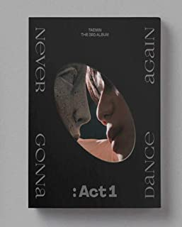 Taemin Shinee - Never Gonna Dance Again : Act 1 (Vol.3) Album+Folded Poster+Extra Photocards Set (Innocent ver.)