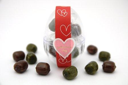 バレンタイン ちょこたま チョコ飴×抹茶飴 30個