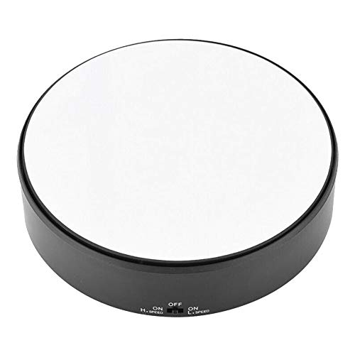 Piattaforma girevole professionale da 360 gradi, display girevole girevole elettrico bianco Utilizzabile come base per realizzare foto, video