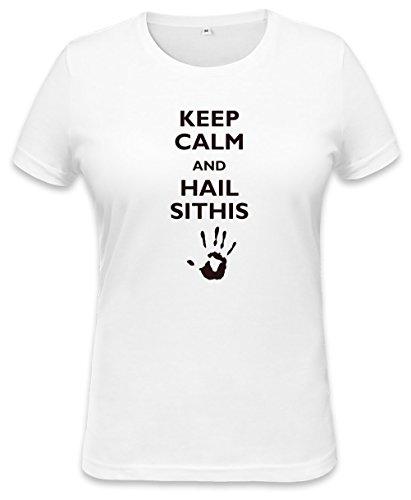 Keep Calm And Hail Sithis Womens T-shirt Small