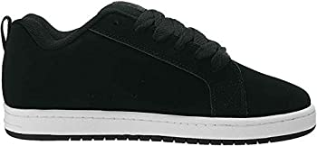 DC Men s Court Graffik SE Skate Shoe Black/Grey/Blue 10 Medium US