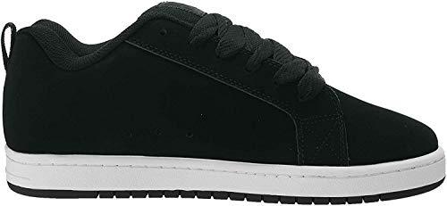DC Shoes tênis masculino Court Graffik Se - sapatos 300927, Black/Grey/Blue, 9