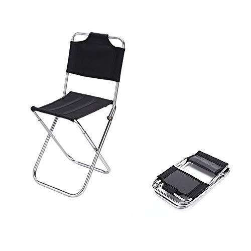 BXLXY Campinghocker mit Lehne Klapp leichtem Aluminium Mini-Stuhl Tragbarer Outdoor-Hocker klappbarer Regiestuhl aus leichtem Aluminium, in tollen Farben, ideal für Camping, Angeln, Outdoor etc