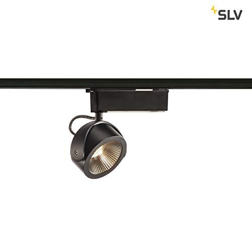 SLV KALU Indoor-Lampe Aluminium/Kunststoff PC Schwarz Lampe innen, Innen-Lampe