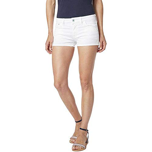 Pepe Jeans Short Ripple Blanco Mujer