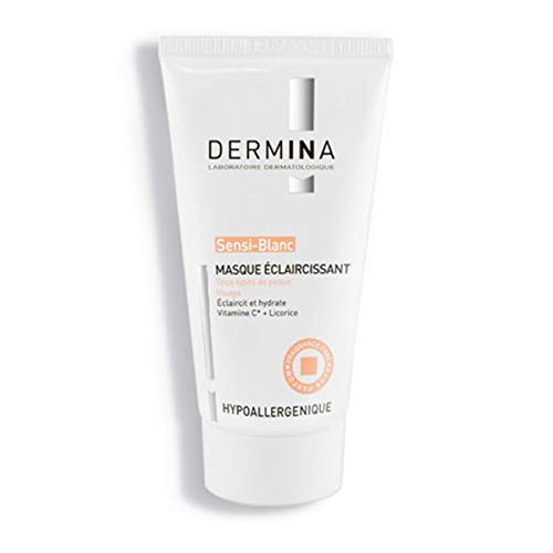 Dermina All Skin Types Lightening Sensi-White 50ml Max Jacksonville Mall 56% OFF Mask