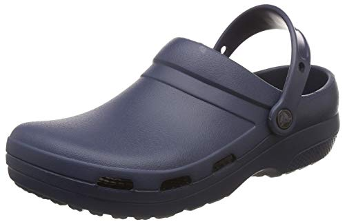 Crocs Specialist II Vent Clog, Zuecos Unisex Adulto, Azul (Navy 410), 42/43 EU