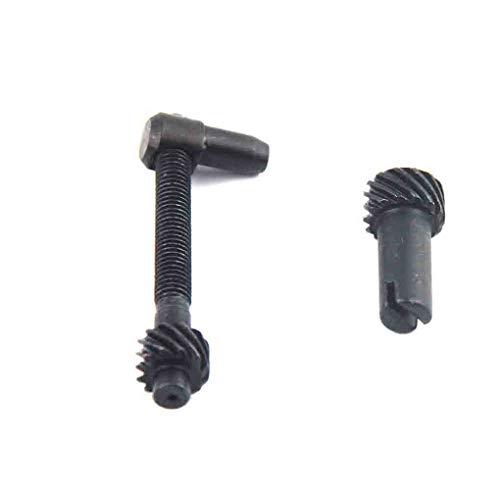 Jinghengrong Cadena 2pcs / Set Ajustador del Tensor de Repuesto para Motosierra 25CC 2500 Timberpro Lawnflite