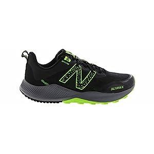 New Balance Men's Nitrel V4 Black/Lime Running Shoe 10.5 M US