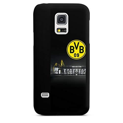 DeinDesign Hard Case kompatibel mit Samsung Galaxy S5 Mini Schutzhülle schwarz Smartphone Backcover BVB Stadion Borussia Dortmund