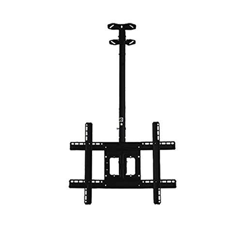 Soporte de Pared para TV Soporte de pared de TV ultra delgado para 32 '-65' Televisores planos planos curvados portátiles TV de ruedas carro con soporte de montaje en altura de inclinación ajustable