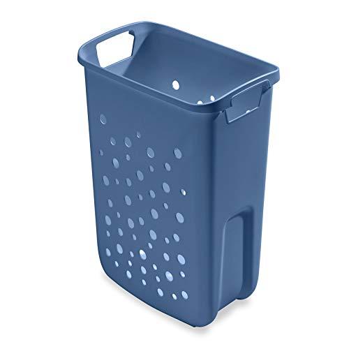 Hailo 1126879 Wäschebehälter 33 Liter taubenblau für Laundry Carrier/TIDY Wäschebehälterauszüge/Ersatz - Wäschekorb