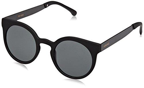 KOMONO Damen LULU Brillengestelle, Schwarz (Gris Metal Black), 46