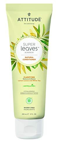 ATTITUDE Super Leaves Conditioner - Tiefenreinigend - mit Zitronenblätter & Weissem Tee (1 x 240 ml)