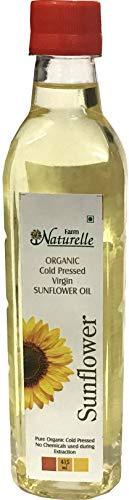 Farm Naturelle Sunflower Oil Cold Pressed - 100% Natural - 415 ML (14.03oz)