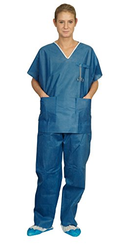 Lch Pijama con bolsillos, no estéril, talla XXL, 1 unidad