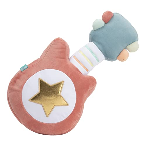 """GUND Baby My First Guitar Lights and Sounds Musical Stuffed Plush Toy, 14"""""""