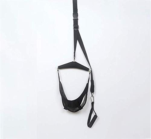 Cervical Neck Traction Device Over Door for Home Use,Over The Door Cervical Traction Neck Stretcher - Easy Setup - Neck & Shoulder Pain Relief at Home