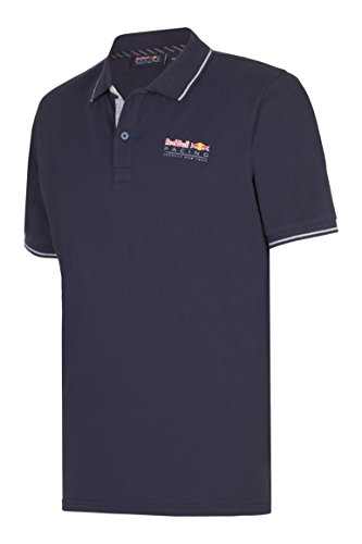 Red Bull Racing RBR Men Classic Polo pour Homme Bleu S